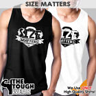 SIZE MATTERS Gym Rabbit Muscle T Shirt Tank Sleeveless Bodybuilding Fitness c954 image