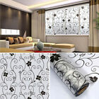 3D Removable Bathroom Self Adhesive Flower Scrub Thick Opaque Window Sticker New