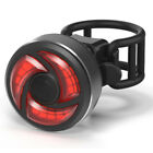 LED USB Rechargeable Bike Bicycle Cycling Tail Rear Safety Warning Light Lamp