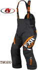 New 2019 FXR Men's Team FX Snowmobile Pants Bibs 3X Black/Orange