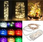 '20/30/100 Led Battery Micro Rice Wire Copper Fairy String Lights Party White
