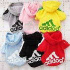 Внешний вид - Cute Hoodie Shirt Clothes Small Dogs Casual Coat Winter Pet Sweatshirt Adidog