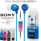 Sony MDR-EX15AP Fashion Color EX Series Headphone Earbud wit