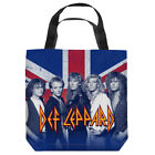 Def Leppard Rock Band Picture THE BOYS Union Jack Tote Bag Many Sizes