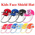 Kyпить For Kids Protective Face Shield Hat Safety Cover Hat Anti Spitting Baseball Cap на еВаy.соm