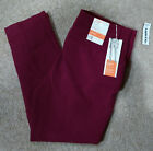 Old Navy Womens Harper Casual Pants-Mid Rise/Ankle Length-Purple/Plum-Sz 14-New!