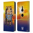 OFFICIAL WWE WRESTLEMANIA 33 SUPERSTARS LEATHER BOOK CASE FOR SONY PHONES 1