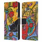 OFFICIAL WYANNE NATURE LEATHER BOOK WALLET CASE COVER FOR HTC PHONES 1
