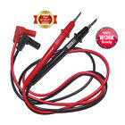 1-5x Pair Universal Probe Wire Cable Test Leads Pin For Digital Multimeter Meter
