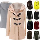 Women Winter Hooded Long Warm Coat Jacket Tops Outwear Trench Parka Overcoat New