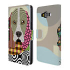 OFFICIAL LANRE ADEFIOYE DOGS 2 LEATHER BOOK WALLET CASE FOR SAMSUNG PHONES 2