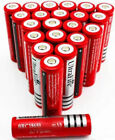 18650 3.7V  Li-ion Rechargeable Battery For Flashlight Headlamp Lot