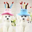 Cap With Cake Candles Design Birthday Hat New Party Costume For Cute Pet Dog Cat