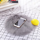 Soft Sheepskin Rug Chair Cover Artificial Wool Warm Hairy Carpet Seat Decoration