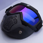 Motorcycle Goggles Face Mask Dirt Bike Motocross Eyewear Off-Road Glasses MX ATV