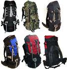 Case Lot 6 Wholesale 7000ci Internal frame Camping Hiking Backpack Bag-LM039