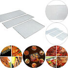 Stainless Steel Non-Stick BBQ Net Mesh Barbecue Racks/ Carbon Baking Net/Grill