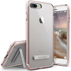 For iPhone 8/8 Plus, 7/7 Plus Case VRS�[Crystal Mixx] Slim Clear Kickstand Cover