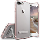 For iPhone 8/8 Plus 7/7 Plus Case VRS® [Crystal Mixx] Slim Clear Kickstand Cover