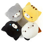 YAMANI Japanese Sasurai No Tabineco Mr. Mikemura Large Marshmallow Cat Plush