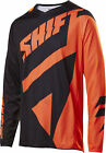 Shift Racing Black/Orange Black Label Mainline Dirt Bike Jersey MX ATV BMX MTB