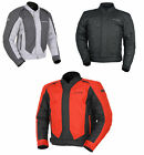 Tourmaster Mens Flex 3 Textile Convertible Motorcycle Jacket All Sizes & Colors