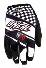 O'Neal Mens Black/White Jump Afterburner Dirt Bike Gloves MX ATV 2016