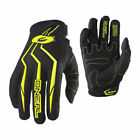 O'Neal Mens & Youth Black/Hi-Viz Element Dirt Bike Gloves MX ATV 2019