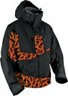 HMK Stamp Orange/Black Mens Peak 2 Snowmobile Snow Jacket 2016