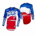 O'Neal Mens & Youth Blue/Red Element Afterburner Dirt Bike Jersey MX ATV 2019