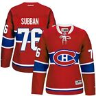 Reebok PK Subban Montreal Canadiens Womens Red Premier Player Jersey