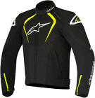 Alpinestars Mens Black/Yellow Fluo T-Jaws Waterproof Motorcycle Riding Jacket