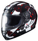 HJC Youth Red/Black/White CL-Y Simitic Motorcycle Full Face Helmet DOT