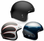 Bell Adult Custom 500 Carbon 3/4 Open Face Motorcycle Helmet DOT $399.95 USD on eBay