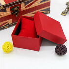 4PCS Jewelry Gift Paper Boxe Ring Earring Necklace Watch Bracelet Storage Box HX