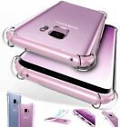 Hybrid Shockproof Soft Clear Case For Samsung Galaxy J4 A6+ A8 2018 Phone Cover