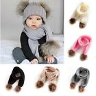 Внешний вид - Cute Toddler Kids Girls Boys Baby Infant Winter Warm Crochet Knit Scarf Scarves