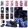 Flip Pattern Leather Stand Wallet Phone Case Cover For iPhone XSMax XR 5/6S/7/8P
