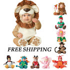 Baby Rompers Clothes Jumpsuits Animal Halloween Costume Kids Cosplay Pajamas