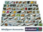 NEW Lego Minifigure (Mini Figure) Parts & Accessories: Mugs, Tools & Much More