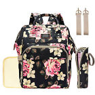 Mummy Maternity Diaper Bag Backpack Large Baby Nappy bags  Stroller Hooks