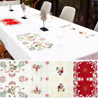 Внешний вид - Placemat Xmas Home Decoration Christmas Dinner Table Mat Cutlery Pads Decor New
