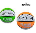 NEW! SPALDING PLAYOFF BASKETBALL Outdoor Basketball Ball Size 7 6 Grip Ball NBA