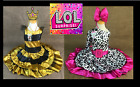 Brand New LOL Surprise Doll Halloween Costume Queen Bee Diva Ships FAST!