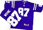 Indianapolis Colts Football Reggie Wayne Premier Jersey Royal *Imperfect* on eBay