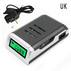 4Slots Intelligent Battery Charger For AA/AAA NiCd NiMh Rechargeable BatteriesST