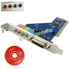 Внешний вид - 4 Channel 5.1 Surround 3D PCI Sound Audio Card MIDI for PC Windows XP/7/8/10 HQ