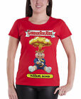 Garbage Pail Kids T Shirt Adam Bomb new Official Womens Skin