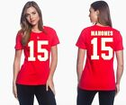 Patrick Mahomes II Kansas City Chiefs 15 NFL Jersey Style Womens Graphic T