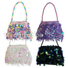 Внешний вид - Stylish Little Girl's Dressy Sequined Purse Jazzy Dressup Small Lady Bag Sequin